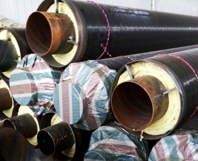钢套钢预制直埋保温钢管厂家