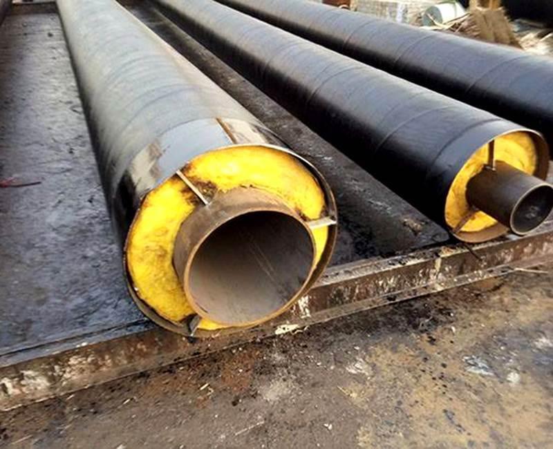 钢套钢输送蒸汽岩棉保温钢管厂家