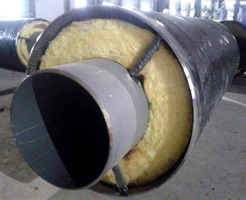 预制直埋钢套钢保温钢管生产厂家