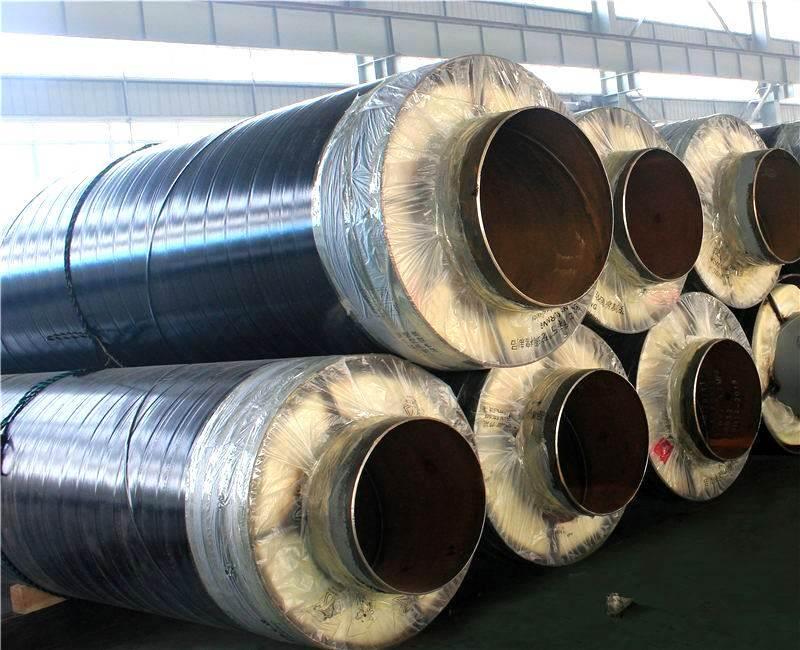 蒸汽管道用钢套钢保温钢管