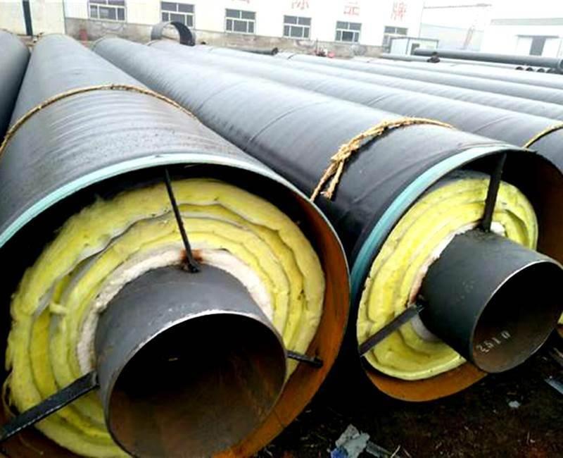 预制钢套钢保温钢管