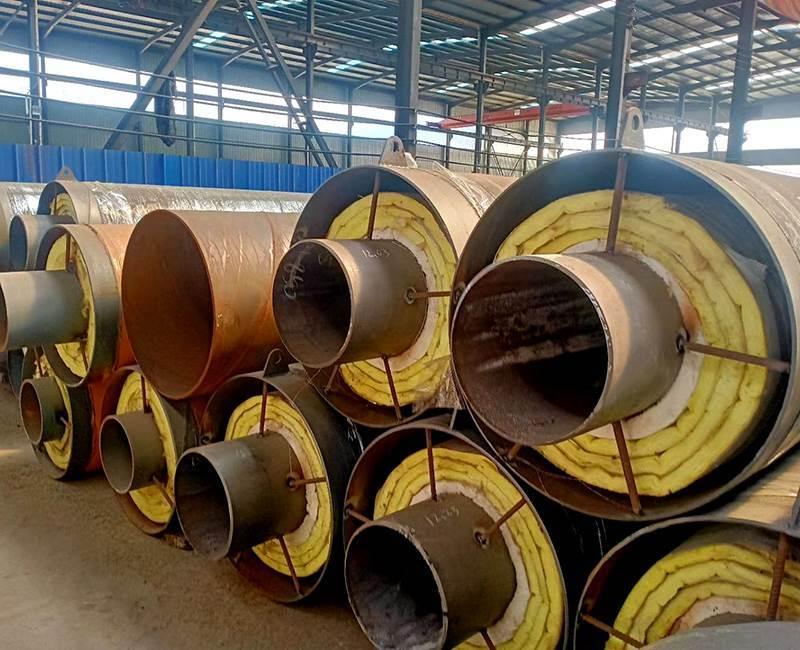预制直埋钢套钢保温钢管价格