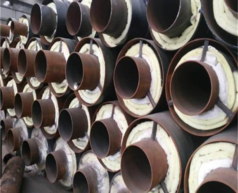 钢套钢岩棉保温钢管生产厂家