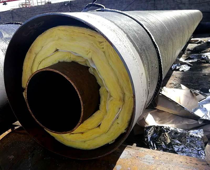 内滑动支架钢套钢保温钢管