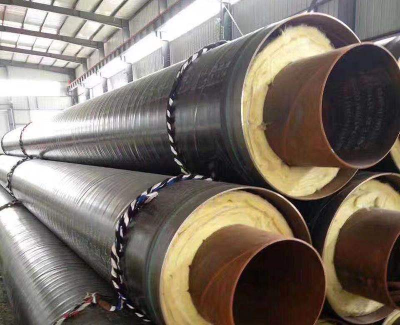钢套钢保温蒸汽钢管