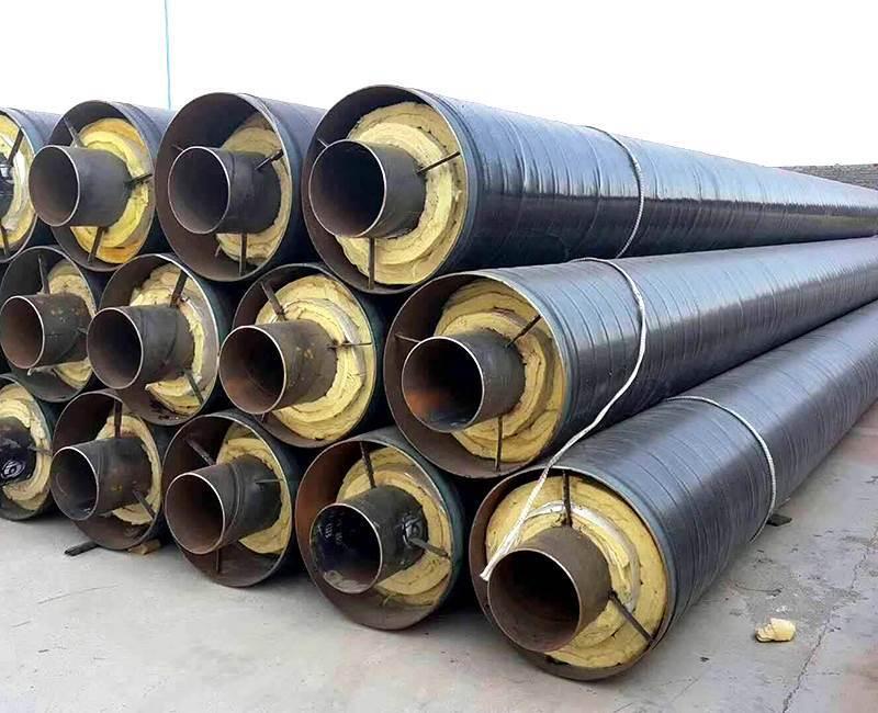 外滑动钢套钢保温钢管价格