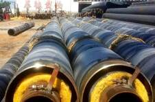 预制直埋钢套钢蒸汽保温管价格