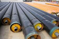 钢套钢蒸汽保温直缝钢管