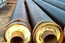 直埋钢套钢保温钢管