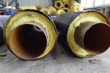 钢套钢防腐保温螺旋管道