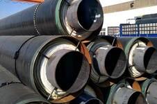 蒸汽钢套钢防腐保温管道
