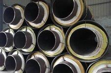 蒸汽直埋用钢套钢保温钢管